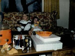 kate me 1978 or so christmas