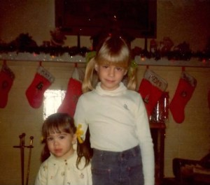 kate me 1978 or so ponytails